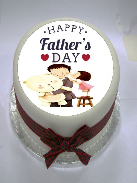Father's Day Edible Cake Topper (Option 4)